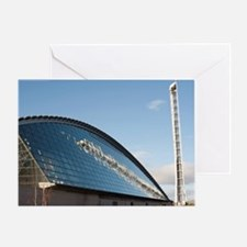 Glasgow Science Centre and Glasgow T Greeting Card