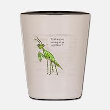 Mantis Shot Glass