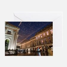 Royal Exchange Square and GOMA, Glas Greeting Card