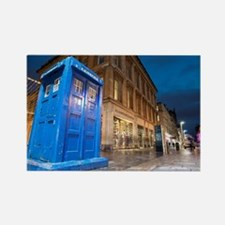 Buchanan Street Police Box, Glasg Rectangle Magnet