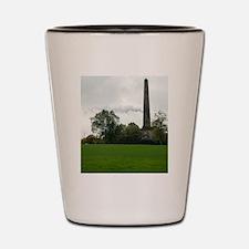 nelson monument Shot Glass