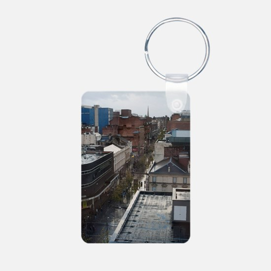 sauchiehall street glasgow Keychains