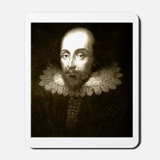 The Works of Shakespeare Mousepad