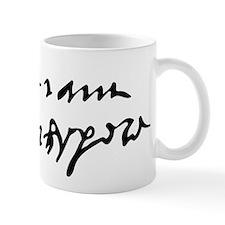 William Shakespare's Signature Mugs