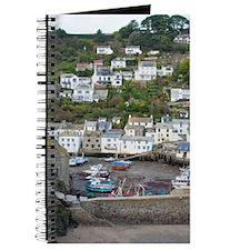 Scenic view of Polperro fishing village Journal
