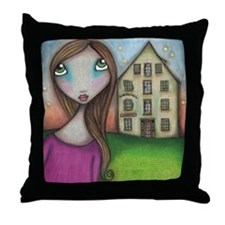 Hometown Girl Throw Pillow