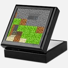 Pixel Art Play Mat Keepsake Box