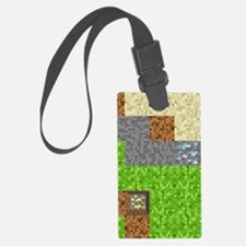 Pixel Art Play Mat Luggage Tag