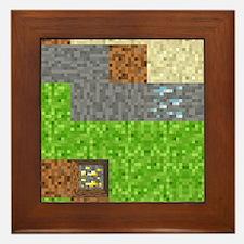 Pixel Art Play Mat Framed Tile