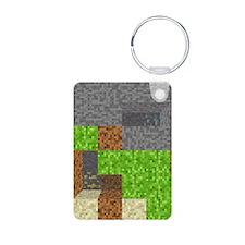 Pixel Art Play Mat Keychains