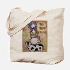Be Their Voice Tote Bag