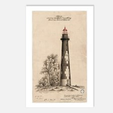 Hunting Island Light. Postcards (Package of 8)