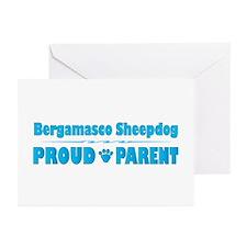 Bergamasco Parent Greeting Cards (Pk of 10)