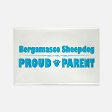 Bergamasco Parent Rectangle Magnet (100 pack)