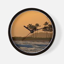 Kauai Sunset Wall Clock
