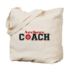 Archery Coach Tote Bag
