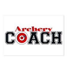 Archery Coach Postcards (Package of 8)