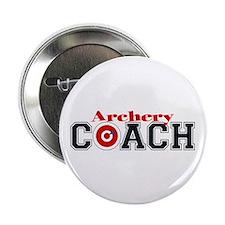 "Archery Coach 2.25"" Button (10 pack)"