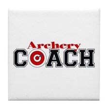 Archery Coach Tile Coaster