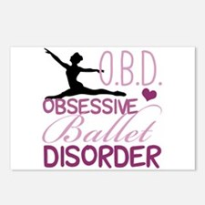 Ballet Obsessed Postcards (Package of 8)