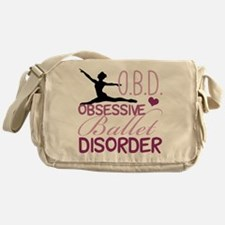 Ballet Obsessed Messenger Bag