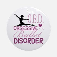 Ballet Obsessed Ornament (Round)