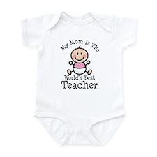 Best Teacher Mom Infant Bodysuit