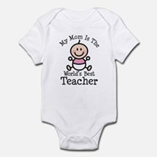 Best Teacher Mom Infant Bodysuit