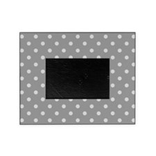 Grey Polka Dots Picture Frame