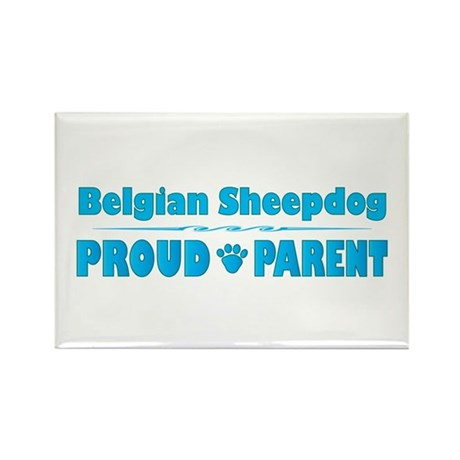 Sheepdog Parent Rectangle Magnet