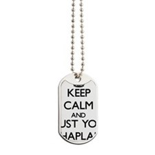 Keep Calm and Trust Your Chaplain Dog Tags