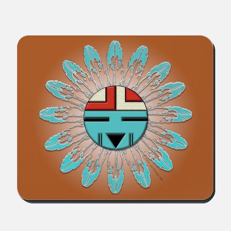 Hopi Sunface Mousepad