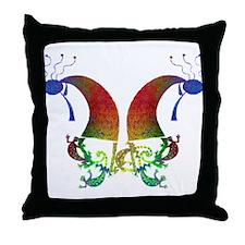 Kokopelli Dance Duo Throw Pillow
