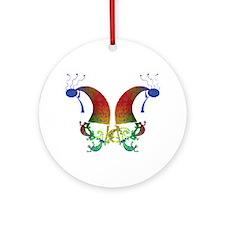 Kokopelli Dance Duo Ornament (Round)