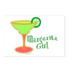 Margarita Girl Postcards (Package of 8)