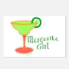Margarita Girl Postcards (Package of 8)