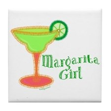 Margarita Girl Tile Coaster