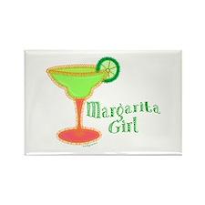 Margarita Girl Rectangle Magnet