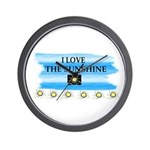 I LOVE THE SUNSHINE Wall Clock