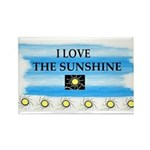 I LOVE THE SUNSHINE Rectangle Magnet