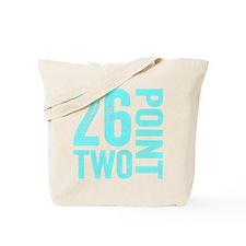 26.2 Marathon Running Motivation Tote Bag