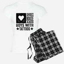 Shoes Booze and Boys with Tattoos Pajamas