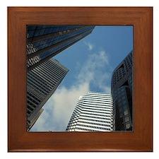 San Fran Skyscrapers Framed Tile