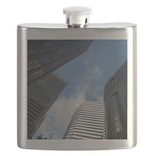 San Fran Skyscrapers Flask
