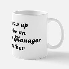 Administrative Manager like m Mug
