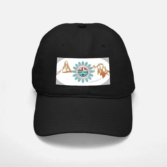 Hopi Sunface Black Cap #2