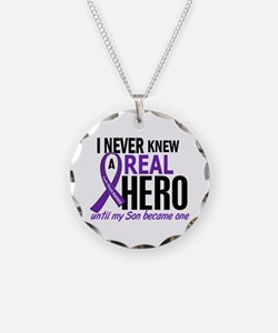 Cystic Fibrosis Real Hero 2 Necklace Circle Charm