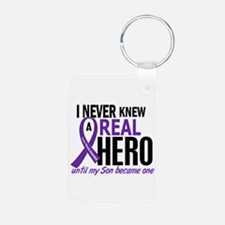 Cystic Fibrosis Real Hero Keychains