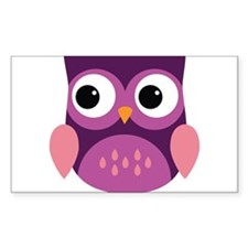 Purple Owl Decal