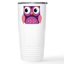 Purple Owl Travel Mug